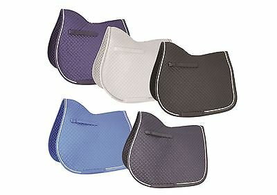 HyWITHER Diamond Touch Saddle Pad - Saddlecloth/Numnah Cob/Full 10898P