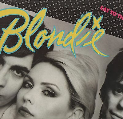 Blondie - 'Eat To The Beat' 1979 French Chrysalis LP w/inner. Ex!