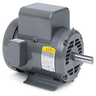 "5 HP SPL 1 Phase 3450 RPM Electric Air Compressor Motor 56 frame 5/8"" Shaft SPL"