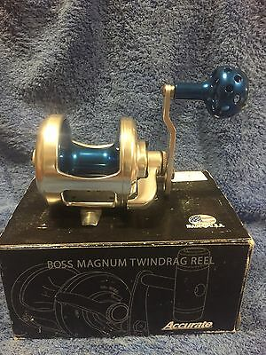Accurate Boss Magnum 665 Lever Drag Reel BRAND NEW