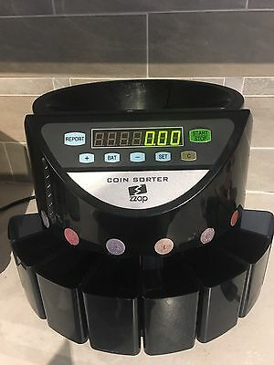Pre-owned Zzap Coin Sorter - Perfect Working Order