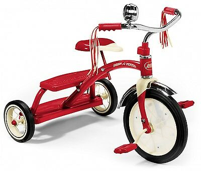 Radio Flyer Dreirad CLASSIC RED DUAL DECK TRICYCLE 433
