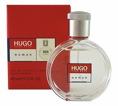 (124,75€/100ml) Hugo Boss HUGO Woman 40ml Eau de Toilette EDT Spray RARITÄT