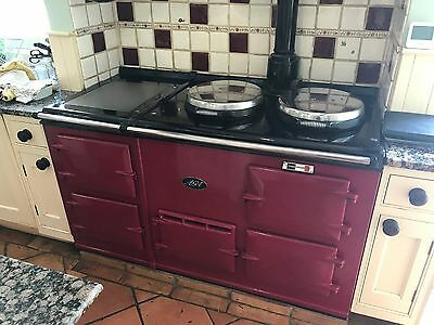 4 Oven Gas Fired AGA in Red