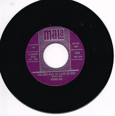 BUNKER HILL - YOU CAN'T MAKE ME DOUBT MY BABY / THE GIRL CAN'T DANCE (rockabilly
