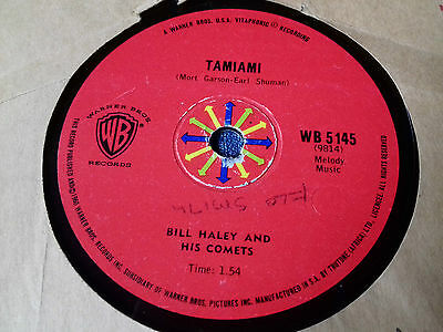 Bill Haley & His Comets , Rare South Africa Press , Candy Kisses / Tamiami