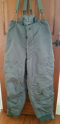 Vintage Usaf F-1B Air Crew Heavy Trousers Size 34