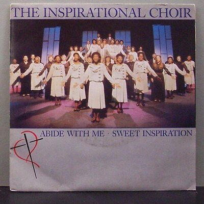 "(o) The Inspirational Choir - Abide With Me (7"" Single)"