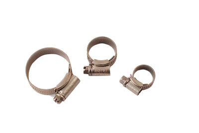 Original Jubilee 304 Stainless Steel Warm Drive Hose Clamp Clips Size:9.5-70mm