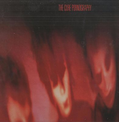 The Cure - 'Pornography' 1982 UK Fiction LP w/inner. Ex!