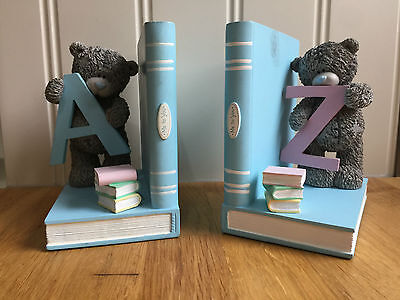 Collectable Me To You Tatty Teddy Figurine Ornament A-Z Bookends