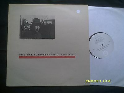 William S Burroughs-The Doctor Is On The Market 1986 Lp