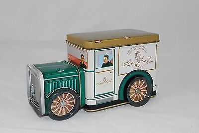 Laura Secord 85th Anniversary Empty Tin Truck w/Moving Wheels, Collectible