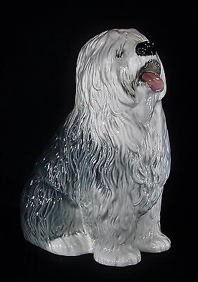 Large Beswick Old English Sheepdog - Fireside Series - Model Number 2232 - 30 cm