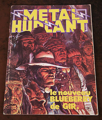 "Metal Hurlant N°38 ""special Blueberry"" - 1979 - Tbe"