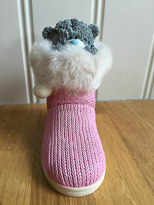 Collectable Me To You Tatty Teddy Figurine Ornament Fluffy Boot