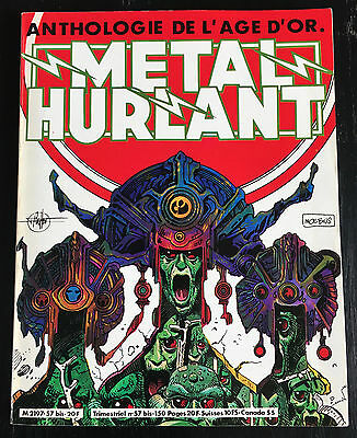 Metal Hurlant - Hs N°57 Bis - Anthologie De L'age D'or - 1980 - Neuf
