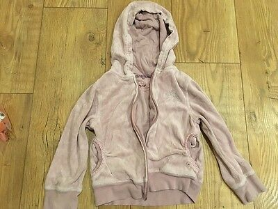 Next girls dusky pink hoodie age 3-4 years