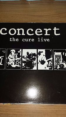 * The Cure ** Concert ** The Cure Live ** 1984 Original Vinyl ** Ex+ Condition *