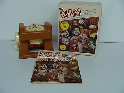 Vintage As Seen On Tv Knitting Machine Vintage With Original Box And Manual