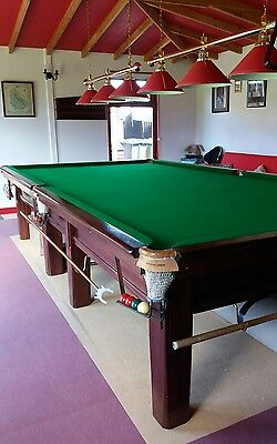 Full Size Snooker Table with Slate Bed plus all accessories