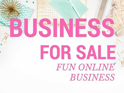 Business for sale, Website + Social Media + fans, Start your Biz with fans