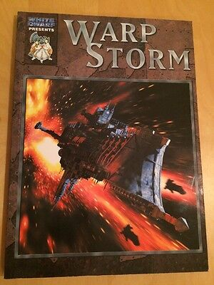 Games Workshop Citadel Warhammer 40,000 40K Battlefleet Gothic Warp Storm Book