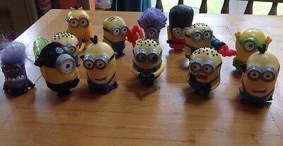 McDonalds Happy Meal Toys Minions 2015 X 13 figures