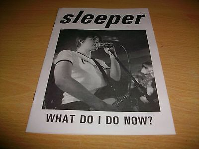 Sleeper - What Do I Do Now 8 Page Booklet / Fanzine - 1995 - Indolent