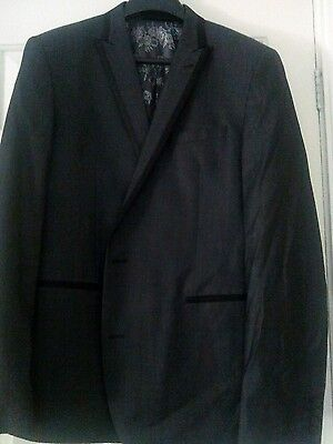Mens Next suit jacket in grey size 44Long