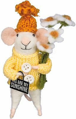 YOU ARE MY SUNSHINE Primitives by Kathy Spring Mouse