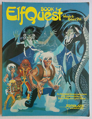 Elfquest Book 3 (1983 Starblaze) Wendy Richad Pini In Color Soft Cover TPB