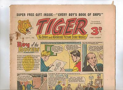 Tiger Comic No 30 (1955) - VG/VG+ - Roy of the Rovers