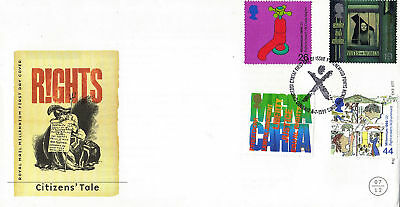 6 July 1999 Citizens Tale Unaddressed Royal Mail First Day Cover Newtown Shs