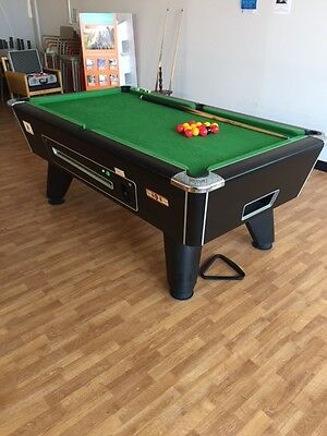 Pool table - Supreme Winner Electronic 7'x4'  Black Pearl - excellent condition