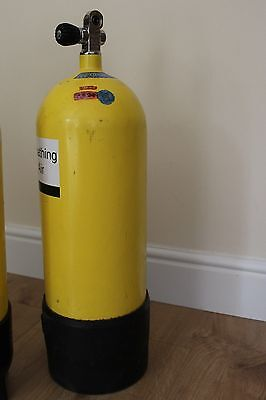 15 litre FABER Dive Cylinder  OUT OF TEST but in EXCELLENT CONDITION