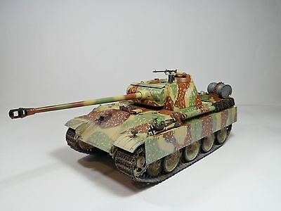 1/35 PRO BUILT- PANTHER Ausf.G Late Version Disc Camo