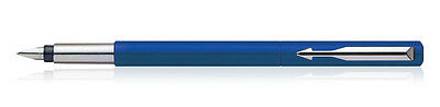 PARKER Vector Blue CT Fountain Pen Boxed - Fine Nib