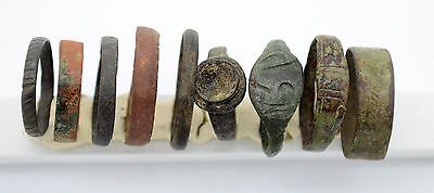 Medieval Viking Period Rings with drawing