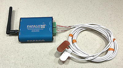 Swimming Pool Temperature Monitoring Solution Papago Pipe Thermometer Wi-Fi Web