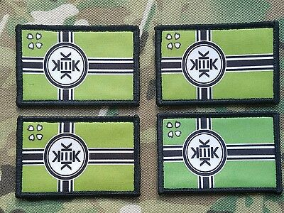 Kekistan 4 Pack Tactical Hook Backed Morale Patch Lord Kek Patriot Trump Army