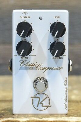 Keeley 14th Anniversary Edition Classic Compressor C4 Guitar Effect Pedal #41962