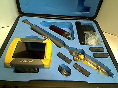 AQUA VIDEO DIAGNOSTIC TOOL FOR INSPECTING TIGHT SPACES SnakeEye