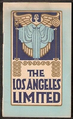 """BROCHURE - Union Pacific Railroad """"The Los Angeles Limited"""" c.1930"""