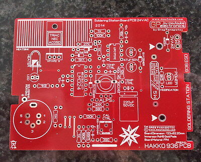 Hakko 936 Original Soldering Station PCB by moutoulos ™