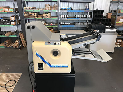 Refurbished Baum 714 XLT Paper Folder w/ Sound Covers & Rebuild Kit Installed