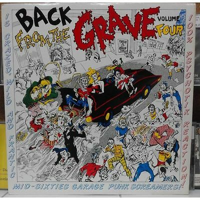 LP - Various - Back From The Grave Volume Four - Garage, Sixties Punk, Mod
