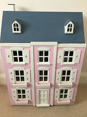 Dolls house with furniture (1/12th scale)