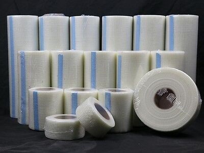 50 Yard 2.5 OZ Self-Adhesive Fiberglass Mesh Tape Tiles Drywall Cracks Joint