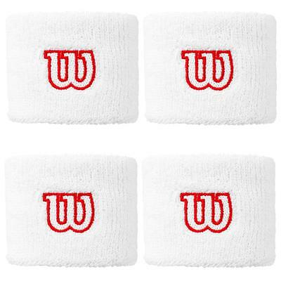 Wilson Super Absorbent 'W' Wristband - White, RRP: £10.99
